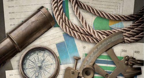 sailing tools on desk